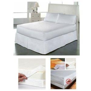 FULL Size Fabric Zipperd Mattress Cover Waterproof